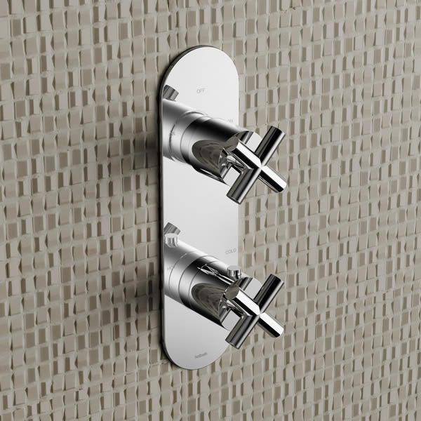 Hotbath-Chap-inbouw-thermostaatkraan-2-weg-omstel-chroom-C051CR