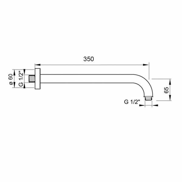Hotbath-Mate-wandarm-M450GN