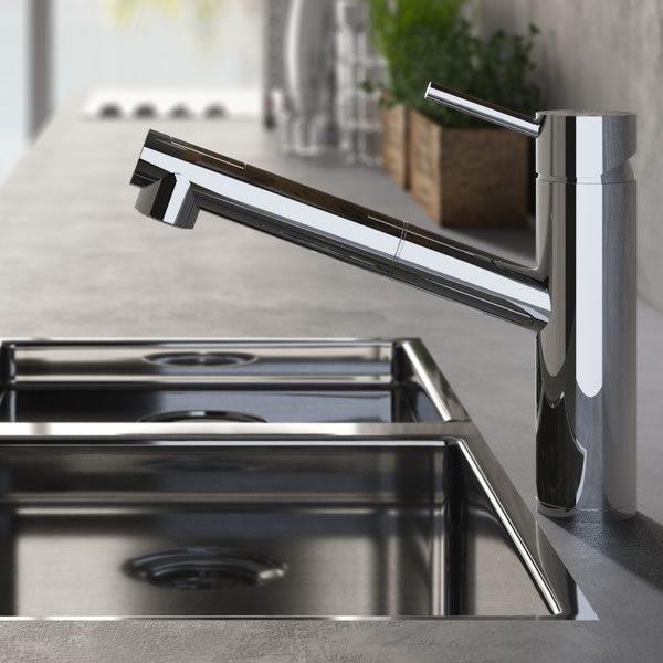 Hotbath-Fellow-keukenkraan-laag-met-uittrekbare-handdouche-FKM10CR