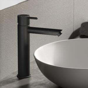 Hotbath zwarte wastafelkraan